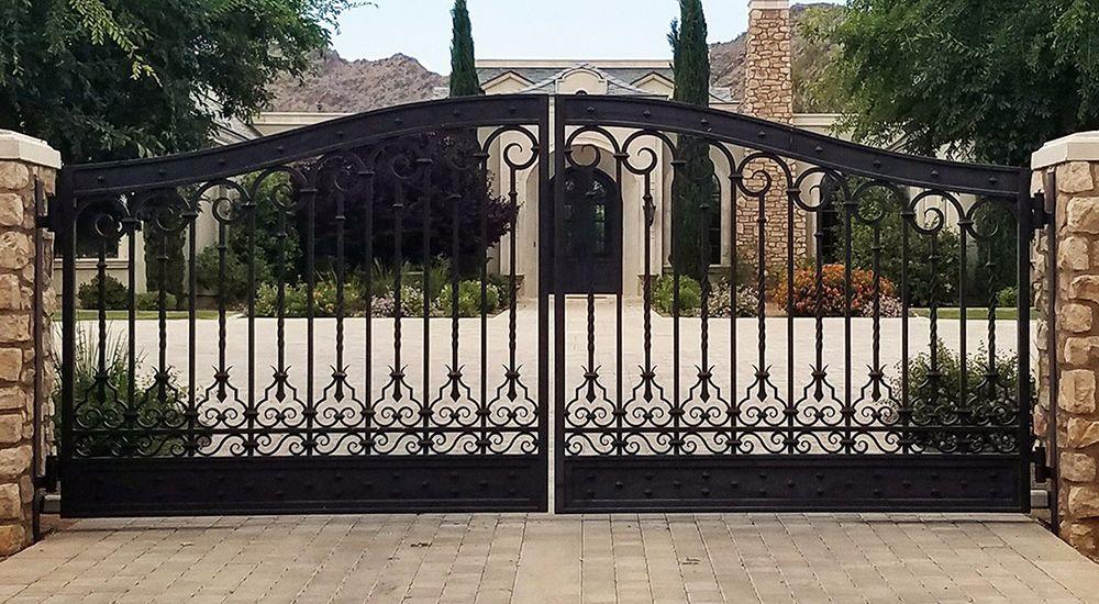 Wrought Iron Gates Austin TX